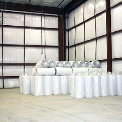1000sf 4x250 White Reflective Foam Insulation Vapor Barrier Warehouse Building