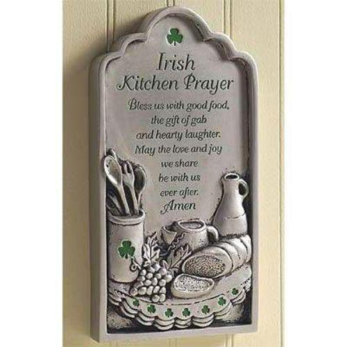 Kitchen Blessing Wall Decor: Irish Blessing: Collectibles