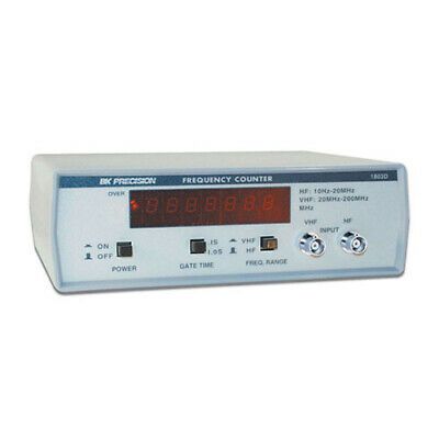 Bk Precision 1803d 200 Mhz 7 Digit Display Frequency Counter
