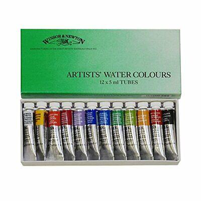 Windsor & Newton Acuarela Profesional Agua Color 12 Color S