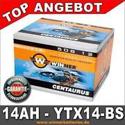 Motorradbatterie 12V 14AH