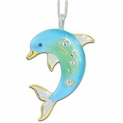 Glass Baron Dolphin Ornament