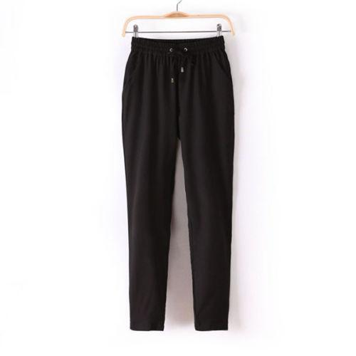Find great deals on eBay for black elastic waist pants. Shop with confidence.