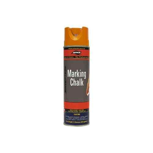 Aervoe 217 20 oz Orange Temporary Marking Chalk Spray with Non-Clogging Can