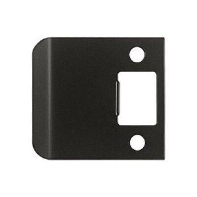 Full Lip Strike Plate (Extended Full Lip Strike Plate US10B Oil Rubbed Bronze Door Lock)