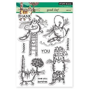 PENNY-BLACK-RUBBER-STAMPS-CLEAR-GOOD-DAY-NEW-STAMP-SET-2014