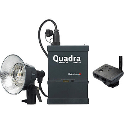 Elinchrom Quadra Living Light Kit w/Lead Battery, S Head and Transmitter #JC