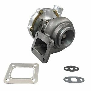 CXRacing T4 T67 Turbo Charger Turbocharger .81AR P Trim 67mm Wheel 500+ HP