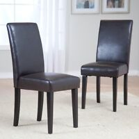 NEW PARSONS DINING CHAIR SET / KITCHEN CHAIR SET