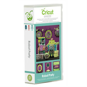 Cricut Robot Party Event Cartridge - $30