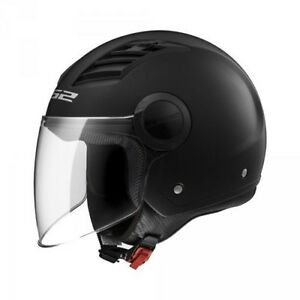 NEW-Casco-Jet-LS2-OF562-AIRFLOW-matt-black-long-TG-XL