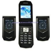 Dual Sim Flip Mobile Phone