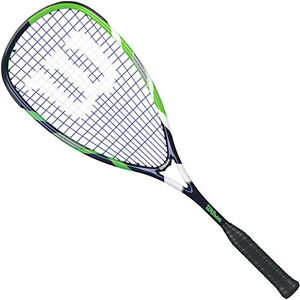 Wilson Sledge Hammer 130 TI squash racquet - Color Red