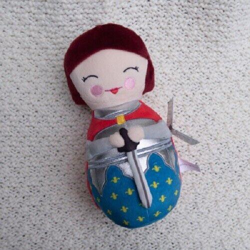 "St. Joan of Arc Plush Dolll  9"" H"
