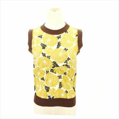 Fendi tops Beige Brown Woman Authentic Used F1315