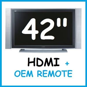 """42"""" Plasma TV by MAXENT + OEM REMOTE --- $120 OBO!!"""