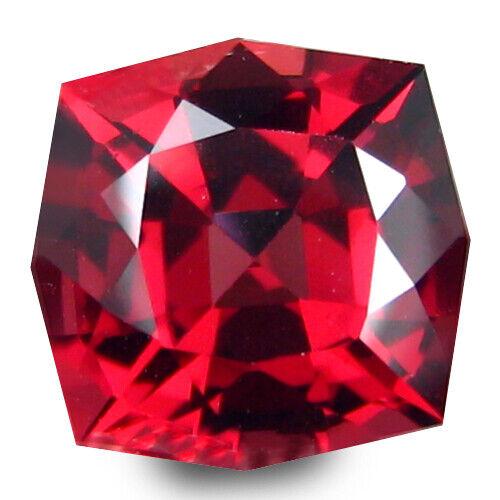 4.56Cts Natural Pinkish Color Rhodolite Garnet Cushion Cut Loose Gem Ref VDO