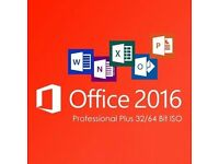 Office 2016 professional plus for Windows or Mac