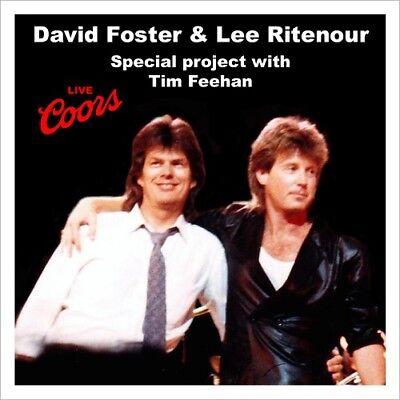 DAVID FOSTER @LIVE'87 CD+2 Tim Feehan+Lee Ritenour+Vinnie Colaiuta WESTCOAST/AOR