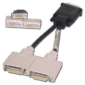 0H9361 DELL DMS-59 to DUAL DVI ADAPTER Y SPLITTER CABLE