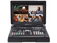 NEW - Datavideo HS-1500T HDBaseT Portable Video Studio with PTZ Control