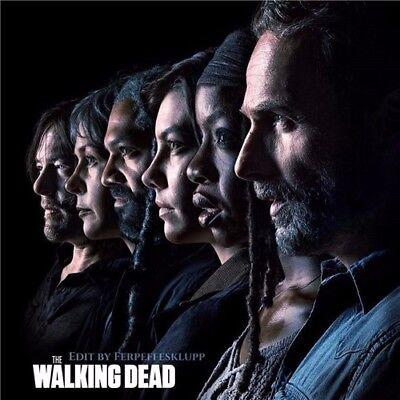 "The Walking Dead Season 8 TV Series Art Silk Poster 24""x24""inch 001"