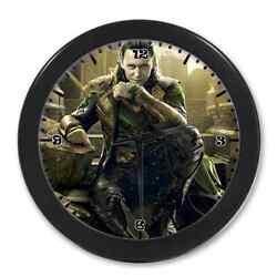 Home Decor Unique Cool Tom Hiddleston Loki Digital Quartz Wall Clock 9.65 Inch