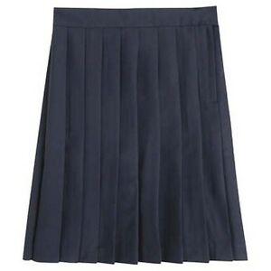 navy blue pleated skirt school toast