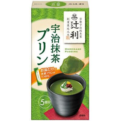 Kataoka Tsujiri Uji Matcha Japanese Green Tea Pudding Mix 5 Servings