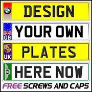 Number Plate Design