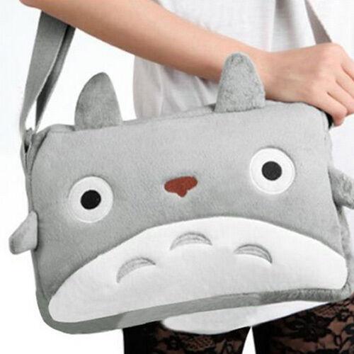 Anime My Neighbor TOTORO Cute Plush Shoulder Messenger Bag Cawaii Soft Bag Toy