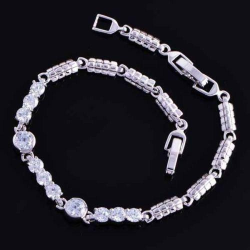 Womens White Gold Bracelet | eBay