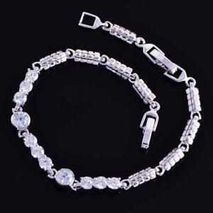 Womens White Gold Bracelet