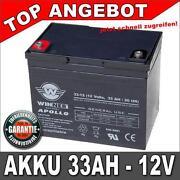 Batterie 12V 36AH