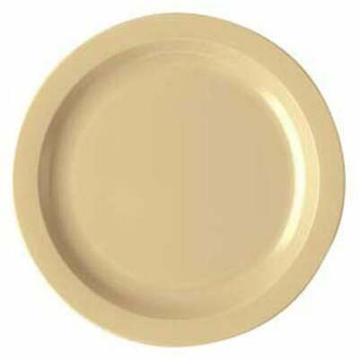 Cambro 10cwnr133 Polycarbonate Dinnerware Narrow Rim Plate 10 Case Of 48