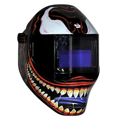New Save Phace Rfp Welding Helmet 40vizi2 40sq Inch Lens 2 Sensor - Kannibal