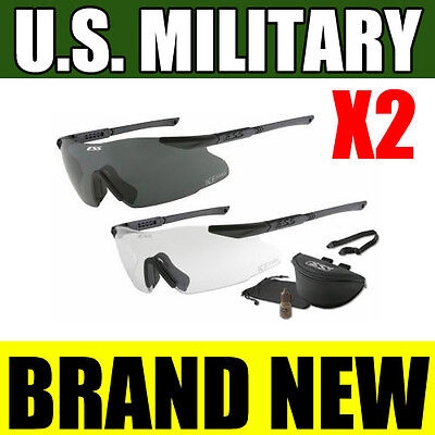 NEW ESS ICE Eyeshield MILITARY Ballistic Safety Glasses Eyewear OAKLEY 740-0004
