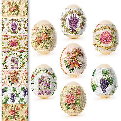 Ukrainian Easter Egg Wraps,Pysanka,Pysanky Egg Heat Shrink Sleeves,7 Hen Size#47