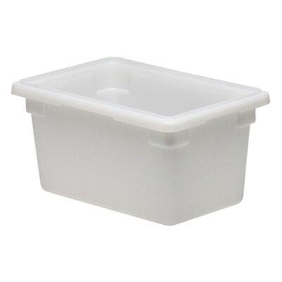 Cambro 12189cw148 Cambro Food Storage Box Half-size 4-34 Gallon White