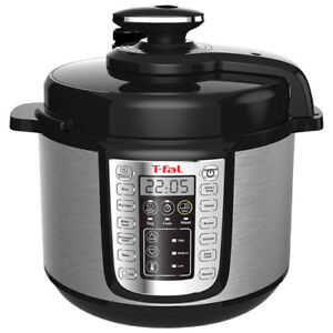 T-FAL 25 IN 1 (6 Qt) ELECTRONIC PRESSURE COOKER