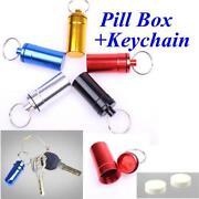 Pill Box Keychain