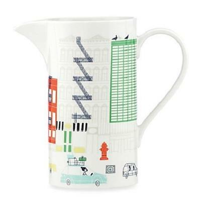 KATE SPADE Hopscotch Drive About Town Building ~ PITCHER  NEW