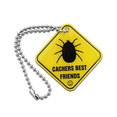Official Geocache Cachers Best Friends - Tick Tag