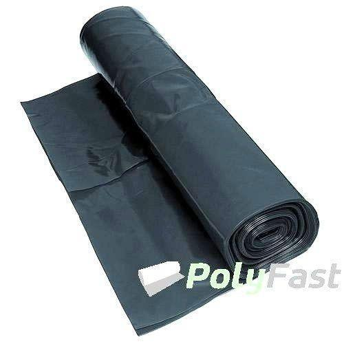 500 Micron Damp Proof Membrane Sheet : Black polythene sheet other diy materials ebay