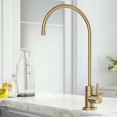 Kraus FF-100BG Purita 100% Lead-Free Kitchen Water Filter Faucet Brushed Gold