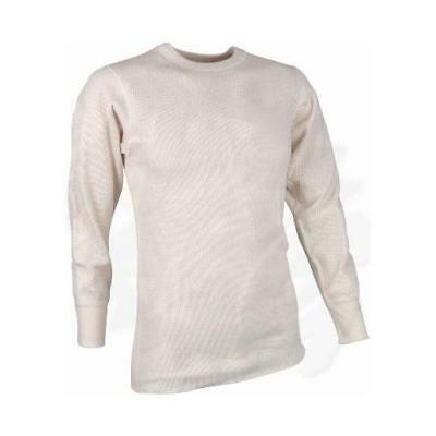 US Military GI Extreme Cold Weather Thermal Undershirt, Natural/Off-White (Extreme Cold Weather Thermals)