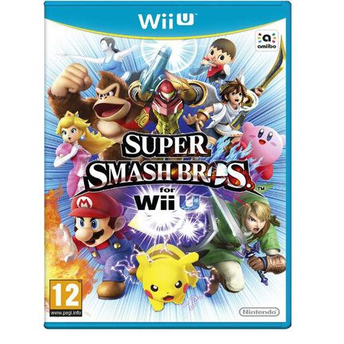 Nintendo Super Smash Bros For Nintendo Wii U Game Console (Brand New UK PAL)