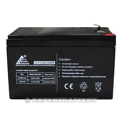 12v 12ah battery ebay. Black Bedroom Furniture Sets. Home Design Ideas