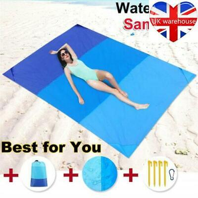 Extra Large Waterproof Picnic Blanket Travel Outdoor Beach Camping Soft mat New