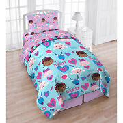 Girls Twin Bedding Set
